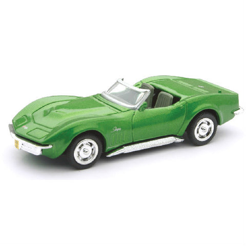 New-Ray 1969 Chevrolet Corvette Die-cast Toy Model Car - Hobbytoys