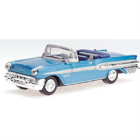 New-Ray 1957 Pontiac Bonneville Die-cast Toy Model Car - Hobbytoys