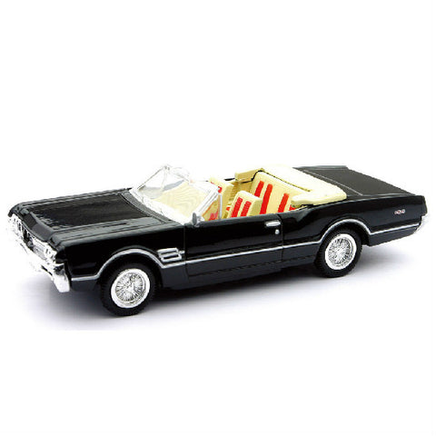 New-Ray 1966 Oldsmobile 4-4-2 Die-cast Toy Model Car - Hobbytoys