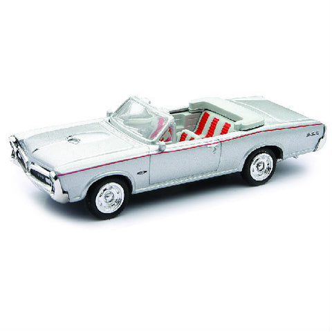 New-Ray 1966 Pontiac GTO Die-cast Toy Model Car - Hobbytoys