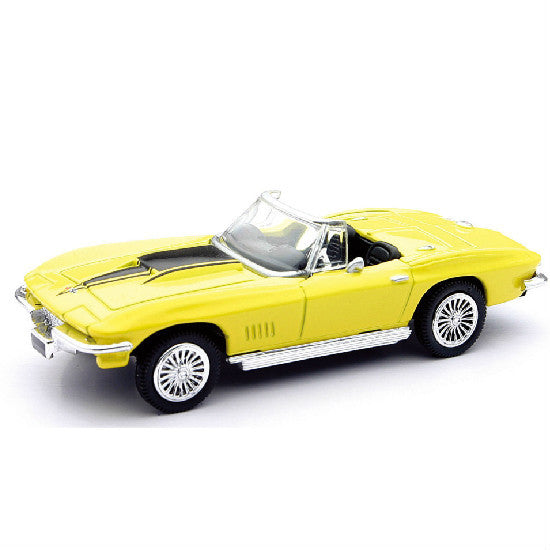 New-Ray 1967 Chevrolet Corvette Die-cast Toy Model Car - Hobbytoys