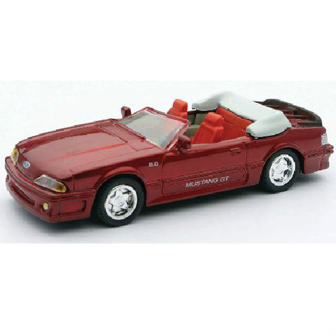 New-Ray 1989 Ford Mustang GT Convertible Die-cast Toy Model Car - Hobbytoys