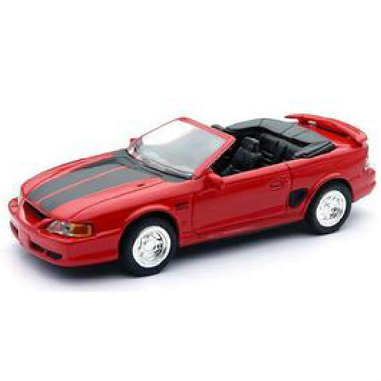 New-Ray 1994 Ford Mustang GT Convertible Die-cast Toy Model Car - Hobbytoys