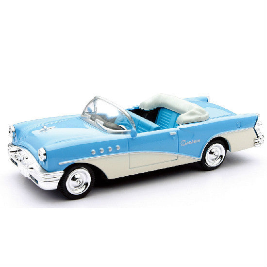 New-Ray 1955 Buick Century Die-cast Toy Car Model - Hobbytoys