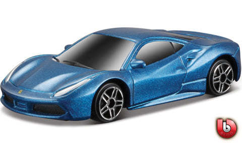 Bburago Ferrari Evolution 488GTB blue
