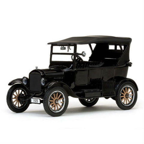 Sun Star 1925 Ford Model T Touring Closed Convertible 1/24 Diecast Model Car - Hobbytoys - 1