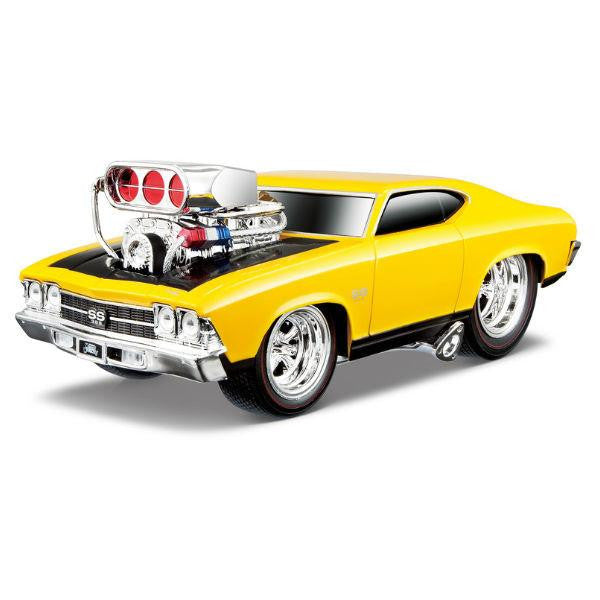 Maisto Muscle Machines 1966 Ford Mustang GT 1/24 - Hobbytoys