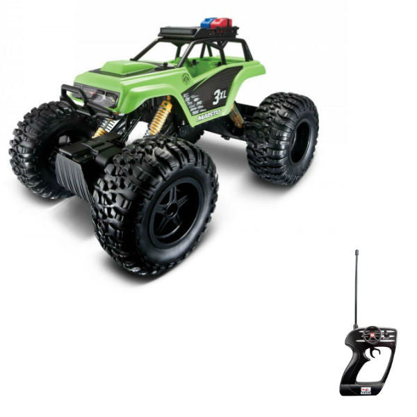 Maisto R/C Rock Crawler 3XL Green - Hobbytoys - 1