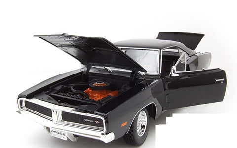 Maisto 1969 Dodge Charger R/T 1/18 Black