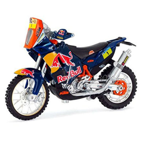 Bburago Red Bull KTM 450 Rally (Dakar Rally) 1/18 - Hobbytoys - 1