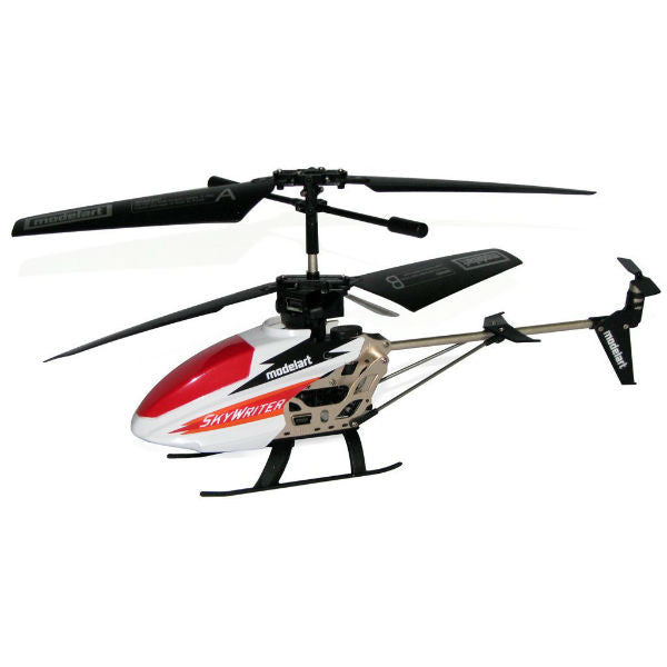 Modelart 3.5 Channel RC Helicopter with LED Messaging Feature - Hobbytoys - 1