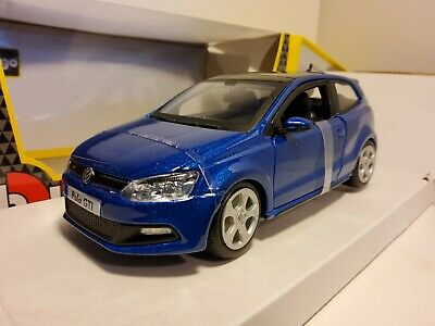 Bburago VW Polo GTI Mark 5 1/24 Blue