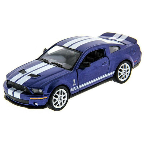 Kinsmart 2007 Ford Shelby GT500 1/38 Blue