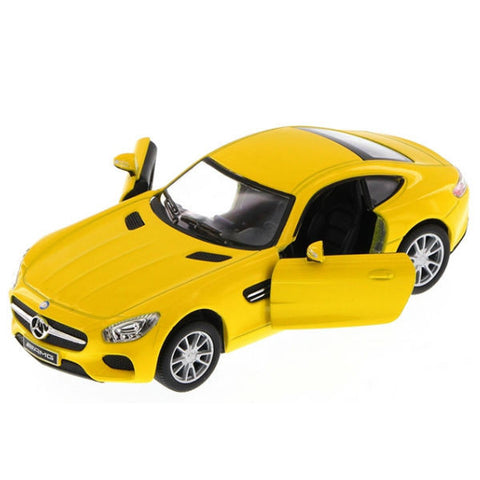 Kinsmart Mercedes AMG GT 1/36 Yellow - Hobbytoys - 2