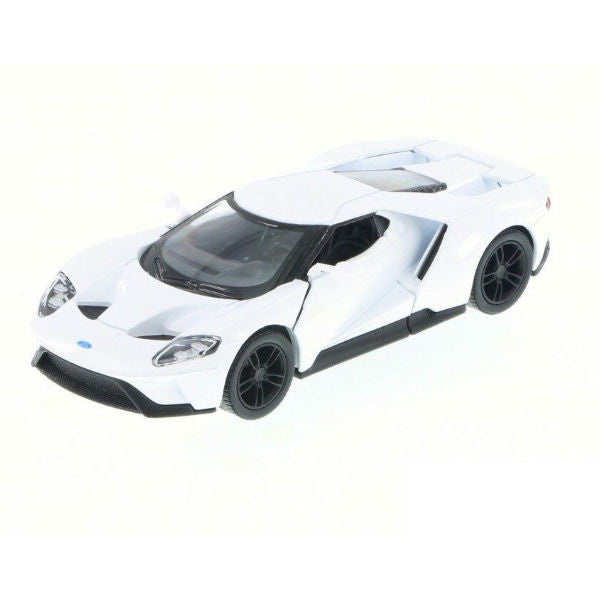 Kinsmart 2017 Ford GT 1/38 White - Hobbytoys - 1