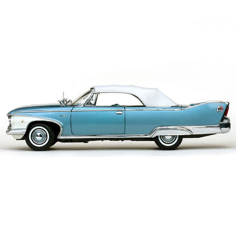 Sun Star 1960 Plymouth Fury Closed Convertible 1/18 - Hobbytoys - 2