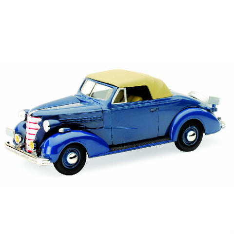 New-Ray 1938 Chevrolet Master Convertible Cabriolet 1:32 Diecast Scale Model Car - Hobbytoys