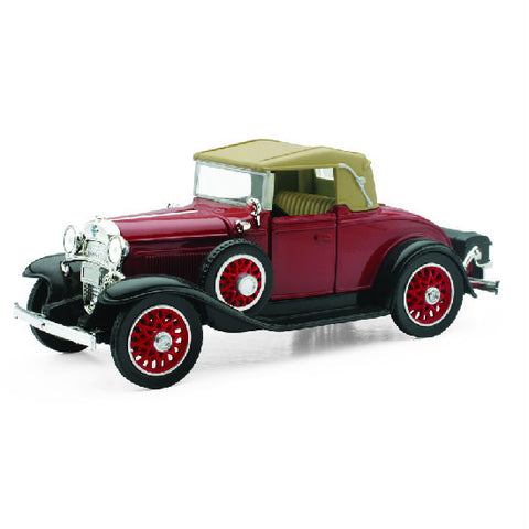 New-Ray 1931 Chevy Sport Cabriolet 1:32 Diecast Scale Model Car - Hobbytoys
