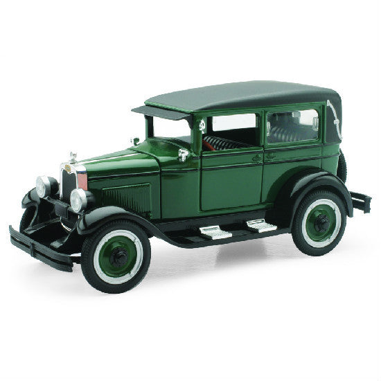 New-Ray 1928 Chevy Imperial Lanau 4 Door 1:32 Diecast Scale Model Car - Hobbytoys