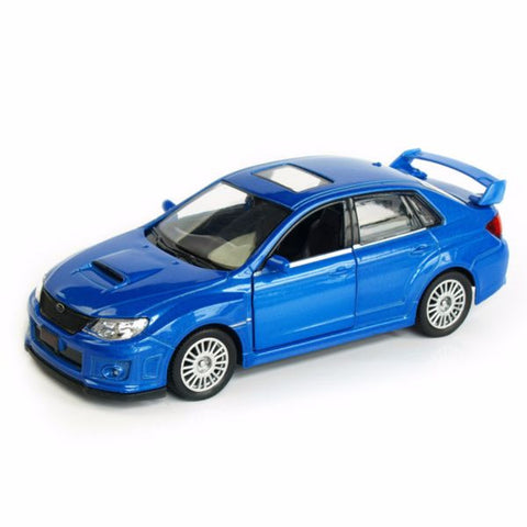 RMZ City Subaru WRX STI Blue - Hobbytoys - 1