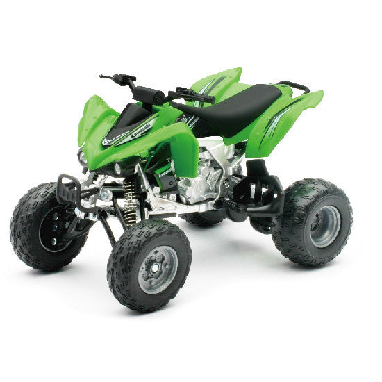 New-Ray Kawasaki KFX450R 2012 ATV Toy Model 1:12 Die-cast Quad - Hobbytoys