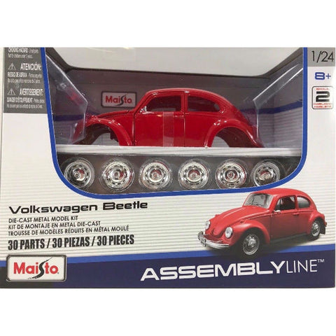 Maisto Volkswagen Beetle Assembly Kit - Hobbytoys - 2