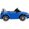 Audi TT RS Plus Blue Color  Battery Operated Ride on Car