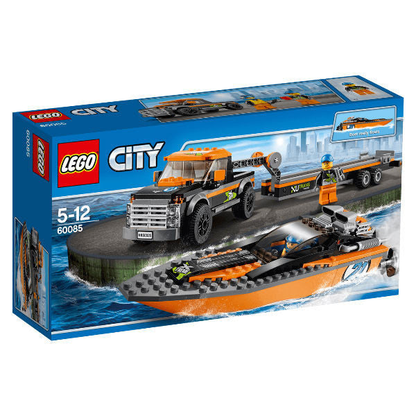 LEGO CITY 4x4 with Powerboat - hobbytoys