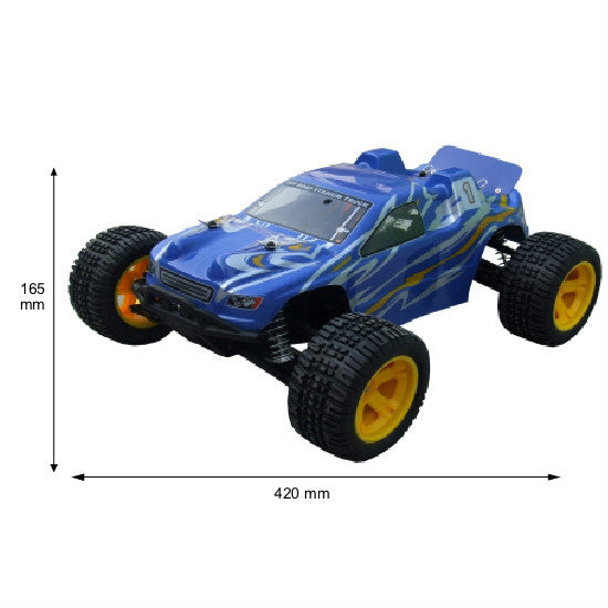 Modelart Truggy 1:10 RC Electric Off-Road Vehicle - Hobbytoys - 1
