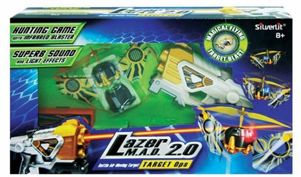 Silverlit Lazer M.A.D 2.0 Target Ops - Air Attack - Hobbytoys