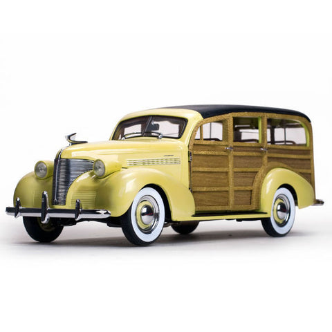 Sun Star 1939 Chevrolet Woody Station Wagon 1/18 - Hobbytoys - 1