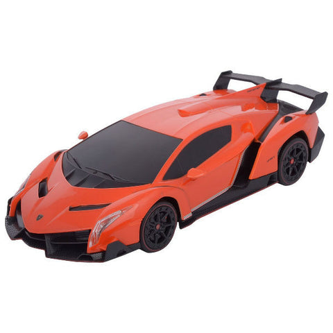 MZ R/C Lamborghini Veneno Sport Racing 1/24 Orange - Hobbytoys - 2