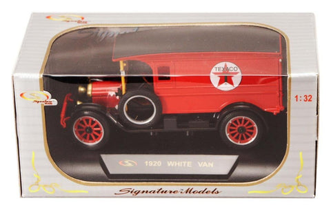 Signature Models 1920 White Van 1/32 - Hobbytoys - 2