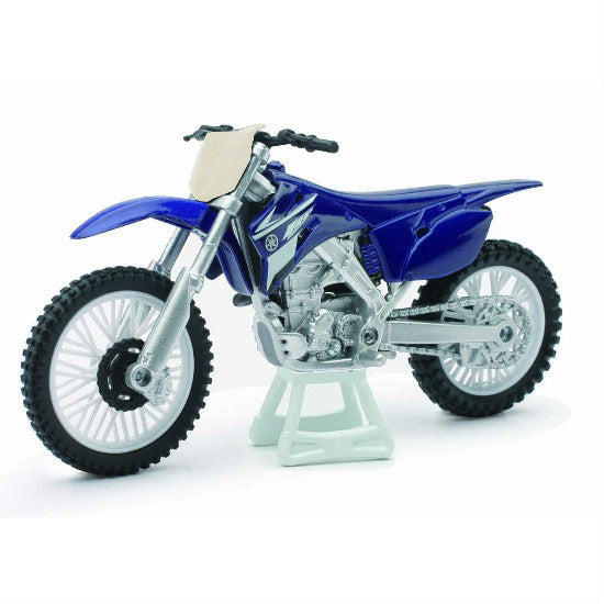 New-Ray Yamaha YZ 450F 1:18 Die-cast Toy Bike Model - Hobbytoys