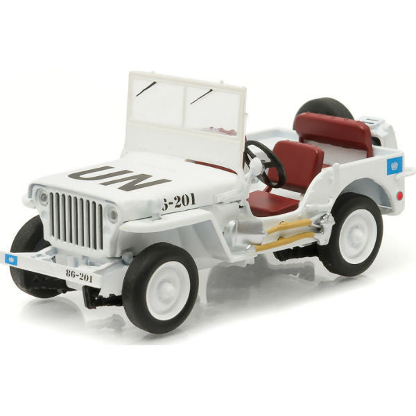 Greenlight Willys Jeep MB 1/43 - Hobbytoys - 1