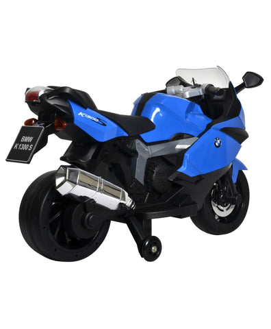 BMW Original Licensed 12 volt battery operated kids bike with three speed control Blue