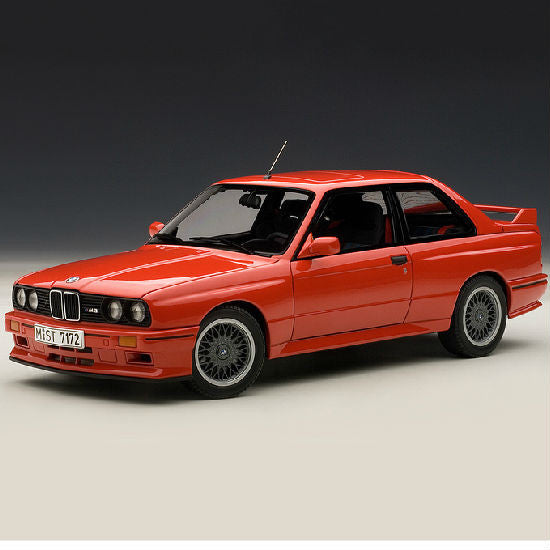 AUTOart 1990 BMW M3 Sport Evolution 1/18 Red - Hobbytoys - 1