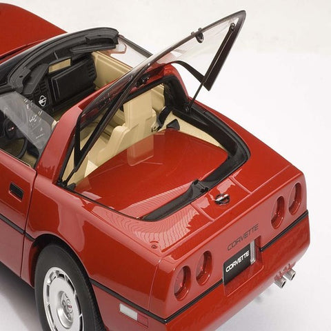 AUTOart 1986 Chevrolet Corvette 1/18 Red - Hobbytoys - 2