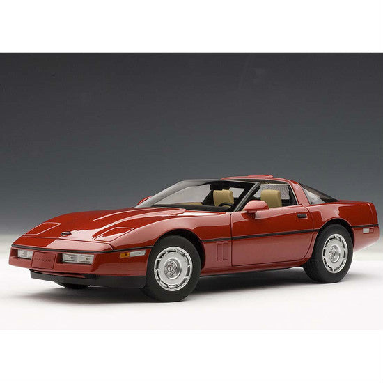 AUTOart 1986 Chevrolet Corvette 1/18 Red - Hobbytoys - 1