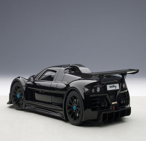 AUTOart 2005 Gumpert Apollo 1/18 Matt Black - Hobbytoys - 2