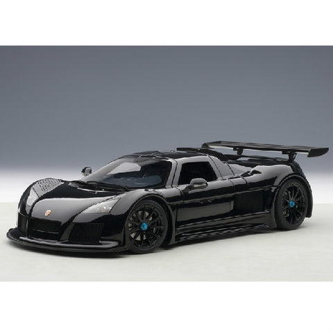 AUTOart 2005 Gumpert Apollo 1/18 Matt Black - Hobbytoys - 1