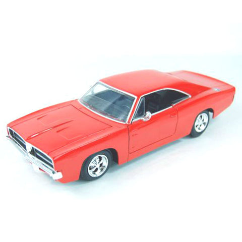 NewRay 1969 Dodge Charger R/T 1/25 Red