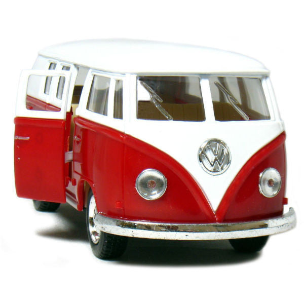Kinsmart 1962 Volkswagen Classical Bus Red