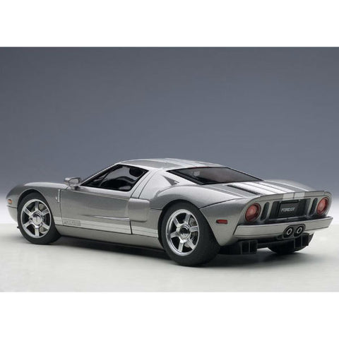AUTOart 2004 Ford GT 1/18 Grey - Hobbytoys - 2