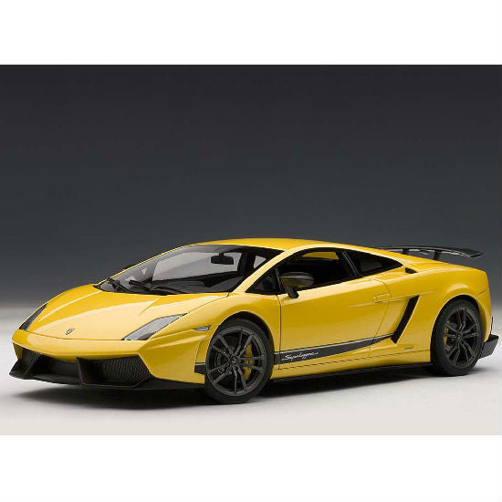 AUTOart 2010 Lamborghini Gallardo LP570-4 Superleggera 1/18 Yellow - Hobbytoys - 1