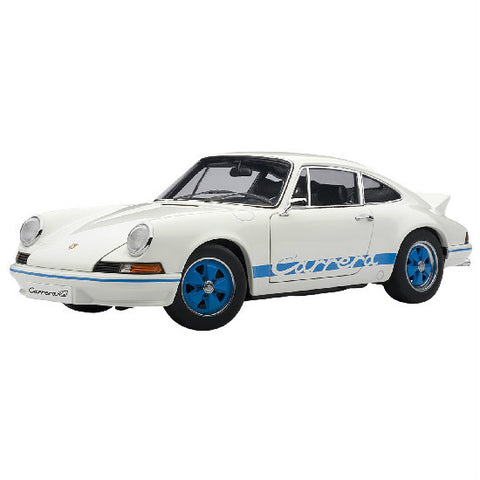 AUTOart 1973 Porsche 911 Carrera RS2.7 1/18 White - Hobbytoys - 1