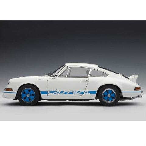 AUTOart 1973 Porsche 911 Carrera RS2.7 1/18 White - Hobbytoys - 2