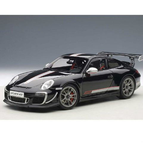 AUTOart Porsche 911 (997) GT3 RS4 Gloss 1/18 Black - Hobbytoys - 1
