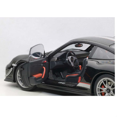 AUTOart Porsche 911 (997) GT3 RS4 Gloss 1/18 Black - Hobbytoys - 2