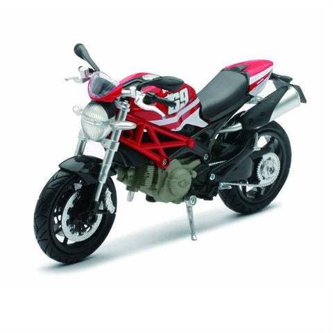 Ducati Monster 796 (No.69) New-Ray 1:12 Diecast Motorcycle Model - Hobbytoys